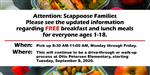 Free and Reduced Meals served at Otto Petersen Mon- Fri  8:30-am-11:00am