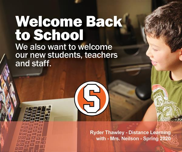 Welcome Back to School 2020-21
